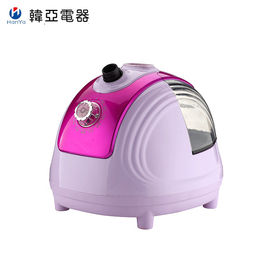 Portable Handheld Clothes Steamer , Mini Purple Upright Clothes Steamer