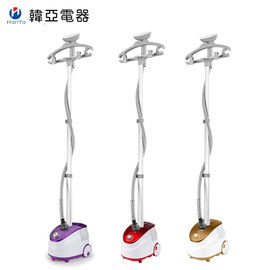 Free Adjustment Clothes Garment Steamer Double Safety System Brush Iron