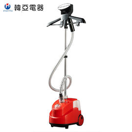 Red Commercial Grade Clothes Steamer 1.7 L Water Tank Capacity Tobi Steamer Iron
