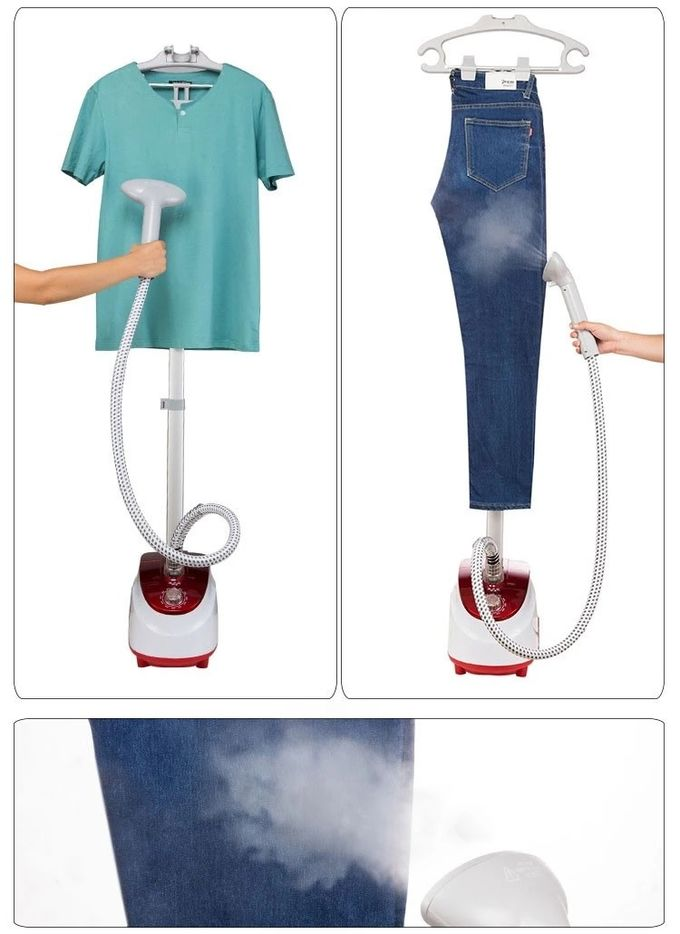 Adjusting Pole Portable Travel Steamer For Clothes